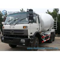 Dongfeng 153 White 10 Wheeler 8 M3 Beton Mixer Truck With 280 Hp Cummins Engine Manufactures