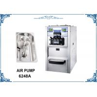 Two Compressors Table Top Ice Cream Maker , Countertop Soft Ice Cream Machine Manufactures