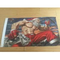 3x5FT Decorative 100D Advertising Banners And Flags For New Year / Merry Christmas Manufactures