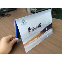 7inch video invitation card company Presentation logo imprinted video cards/booklets