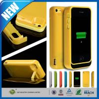 Thin Rechargeable Cell Phone Battery Case Charger Pack 4200mAh For Iphone 5C Manufactures