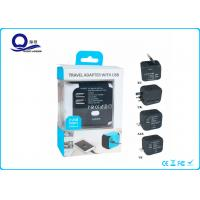 Universal AC USB Power Charger Adapter With 5V 2.4A Dual USB Port Manufactures