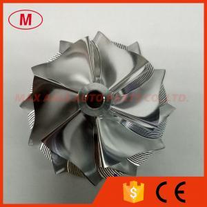 China HT12B 6+6 blades 47.10/60.13mm high performance turbo billet/milling/aluminum 2618 compressor wheel on sale