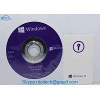 OEM Windows 10 Pro 64 Bit Product Key / Microsoft Windows 10 Pro Upgrade Key Code License Manufactures