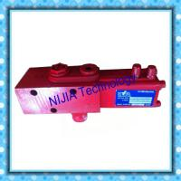 Red Hyva Dump Truck Valve 14767322 Mounted In Line On Oil Tank Single Pressure Manufactures