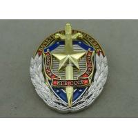 Zinc Alloy Synthetic Enamel Police Badges for Anniversary Celebration Manufactures