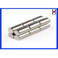 China Neodymium Permanent Diametric Cylinder Shaped Magnet For Motor / Electronic on sale