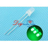China 5MM Diffused DIY LED Diode Green Lighting With 120 Degrees Viewing Angle on sale