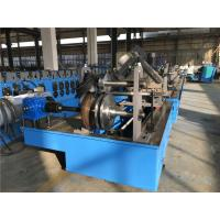 China Two Profile Change Top Hat Metal Roll Forming Machine 0.8 - 2.0 Thickness Auto Stacker on sale