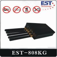 WIFI 30dBm GPS Vehicle Tracking Device EST-808KG For Car 5 Antenna Manufactures