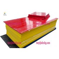 moisture resistant high chemical resistance mats pe raw material hdpe sheet Manufactures