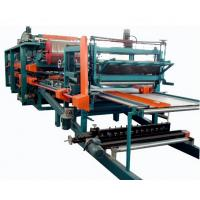 Double Belt PU Sandwich Panel Making Machine Automatic For Roof Wall Panel Manufactures
