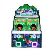 China Dinosaur Park Ball Shooting Redemption Game Machine / Capsule Toy Out Arcade Machine on sale
