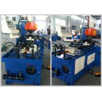 Copper / Cast Iron Tube Automatic Pipe Cutting Machine Fast Cutting Speed Manufactures