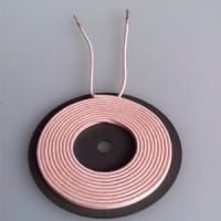 6.5uh Inductance Wireless Charging Coil Without Ferrite , 20.5 Inner Dia Size Manufactures