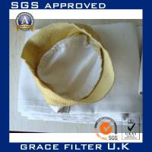 Anti-Static Woven Fiberglass Filter Bags For Filter Housing / Asphalt Plant Manufactures