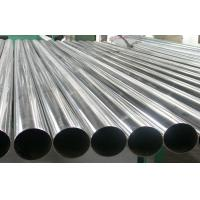 AISI 304 Welded Stainless Steel Pipe Round For Chemical , Cold Drawn