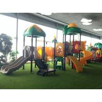 2016 Large Kindergarten Kids Plastic Outdoor Playground for kindergarten and park Manufactures