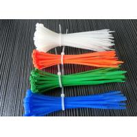 Colorful Nylon Tie Wraps Operating Temperature -35 To 85℃ For Various Applications Manufactures