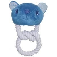 Pet Animal Head Series Dog Rope Toys With Squeaker Washable Manufactures