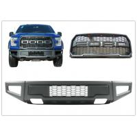 Ford F150 2015 2017 Raptor Style Steel Front Bumper Bar and Front Grille Manufactures