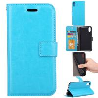 Quality Apple Iphone Crazy Horse Leather Wallet Case Three Id Card Slot For Iphonex for sale