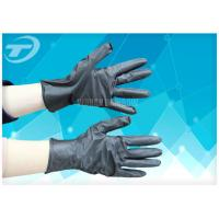 Dip Flock Lined Medical Disposable Gloves For Electronic And Instrument Industry Manufactures