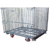 Steel Foldable Wire Pallet; Wire Container; Wire cage; Warehouse cage Manufactures