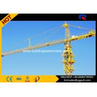 Slewing Speed 0.6 R/Min City Lifting Building Tower Crane Jib Length 50M Manufactures