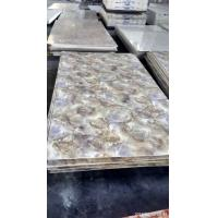Fireproof custom Artificial Marble panels long - time for house Manufactures