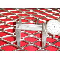 CE 1.2mm Strand Flat Expanded Stainless Steel Mesh Anti - Skid Surface for sale