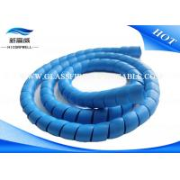China Hose Wire Cable Case  Fiber Optic Patch Cables Soft  Plastic Spiral Guard  Tube Cover on sale