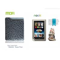 Grey Simple Mofi Tablet Super Fiber Protective Nook Cover Case With Customized