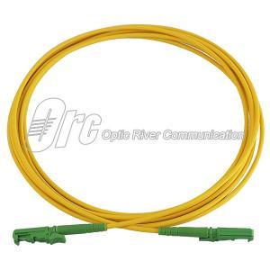 China E2000/APC Fiber Patch Cord 2.0mm OFNR UL listed optical fiber cable on sale