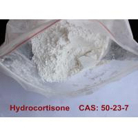 Quality Pharmaceutical Grade Steroid Hormones Bodybuilding Hydrocortisone Raw Powder for sale