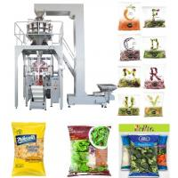 PLC Control Automated Packing Machine / Vertical Form Fill Seal Packaging Machine Speed 5 - 60 Bags / Min Manufactures