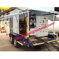 Car wheel mobile transformer oil regenerate machine,insulation oil treatment online Manufactures