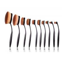 10pcs Toothbrush Synthetic Hair Makeup brush Set Manufactures