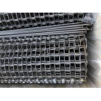 304/316 SS Flat Wire Conveyor Belt / Conveyor Chain Belt 0.5mm-3mm Thickness Manufactures