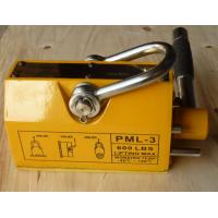 Unique Electro Permanent Magnetic Lifter , Yellow Steel Magnetic Lifter Manufactures