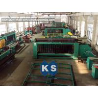 2m X 1m X 1m Gabion Machine Reno Mattress Machine Edge Winding Up Machine Manufactures