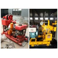 Diesel Engine Hydraulic 200m Depth Soil Test Drilling Machine for Construction Usage Manufactures