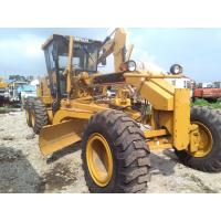 Caterpillar 140H Used Motor Grader new painting 185hp CAT 140 Manufactures