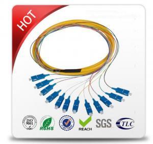 FC / APC - FC / APC Single Mode Patch Cables Top Grade PVC Cable Outer Jacket