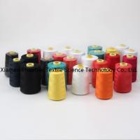 100% spun polyester sewing thread dyed yarn Manufactures