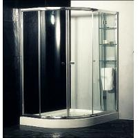 Custom Glass Door Shower Enclosures , Space Saving Bathroom Shower Cabinets