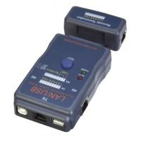 Hardware Networking Tools RJ45 Modular Cable Tester Auto Scan Test Mode Manufactures