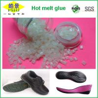 High Adhesive Strength Hot Melt Pellets , High Temperature Shoe Sole Glue Manufactures