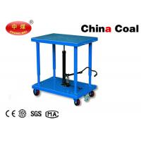 China Mobile Hydraulic Lifting Table Trolley MD Series 90kg to 2700kg  Lifting Table on sale