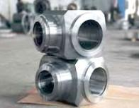 Valve Body Forging, Welded Steel Pipe Fittings, Heavy Forged Valves AISI 4140 Manufactures